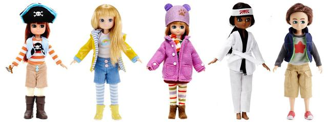 Why are fashion dolls so skinny? Lottie Dolls