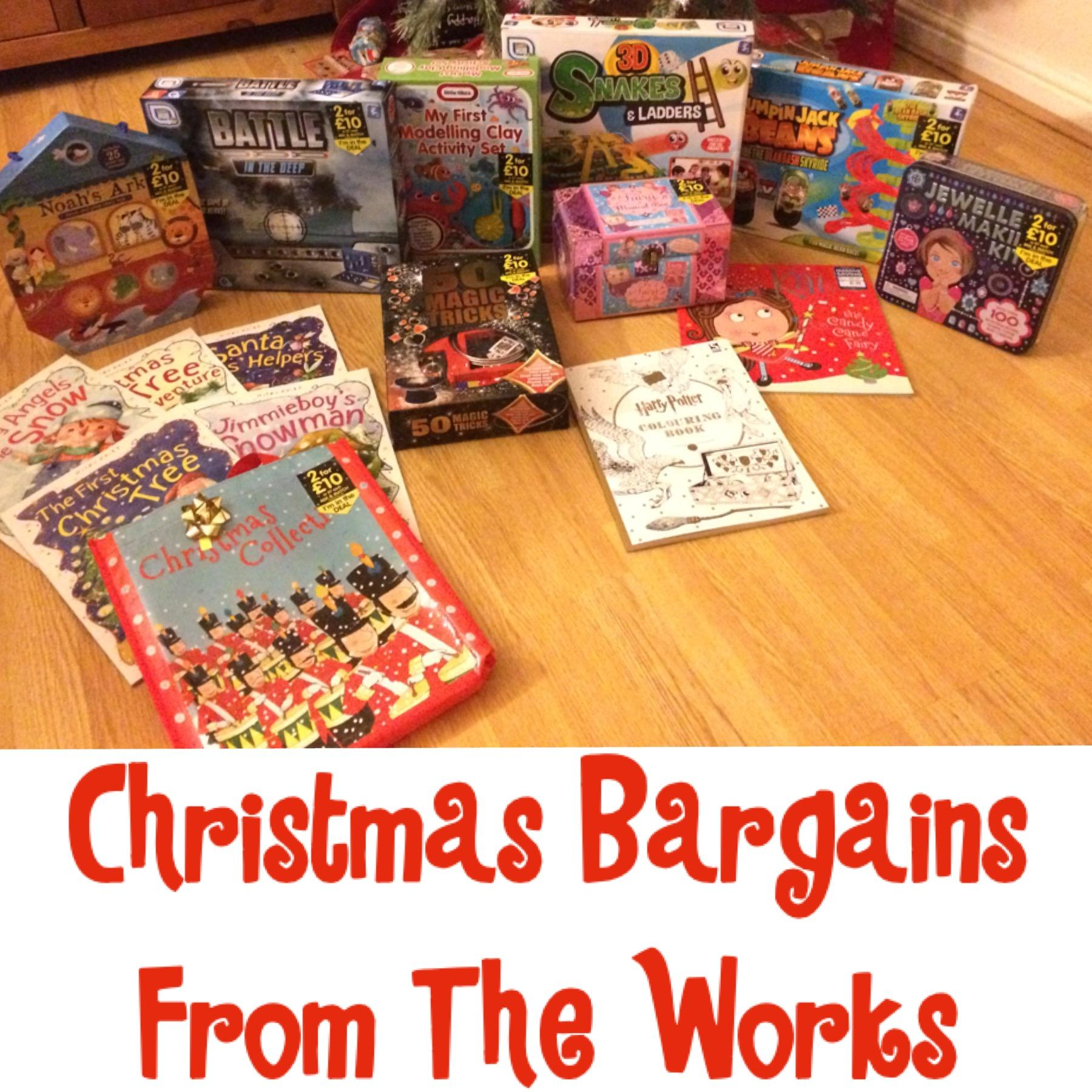 Christmas bargains