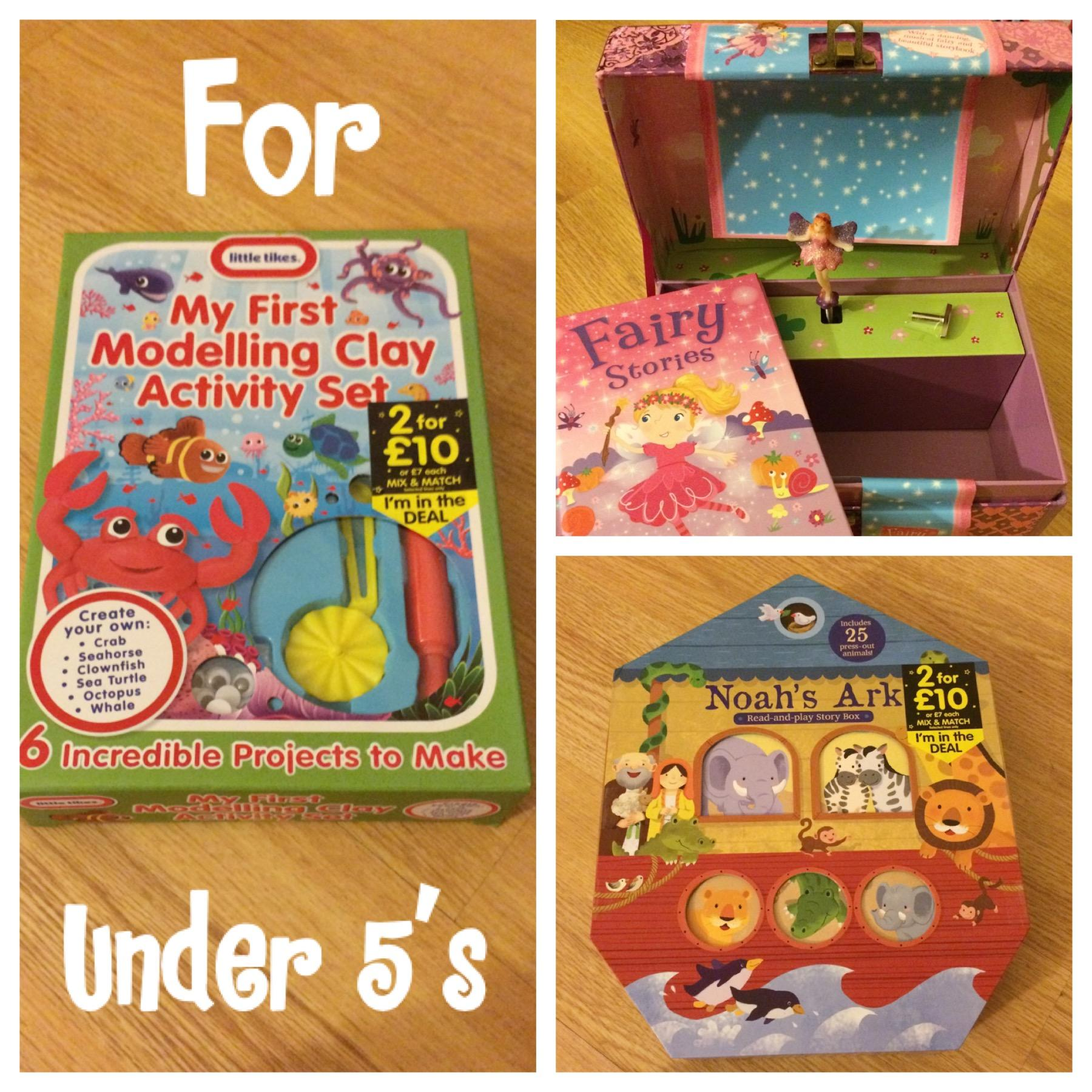 Christmas bargains for under 5's