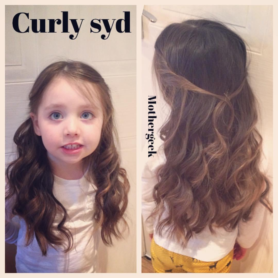 Silent Treatment - curly hair for syd,