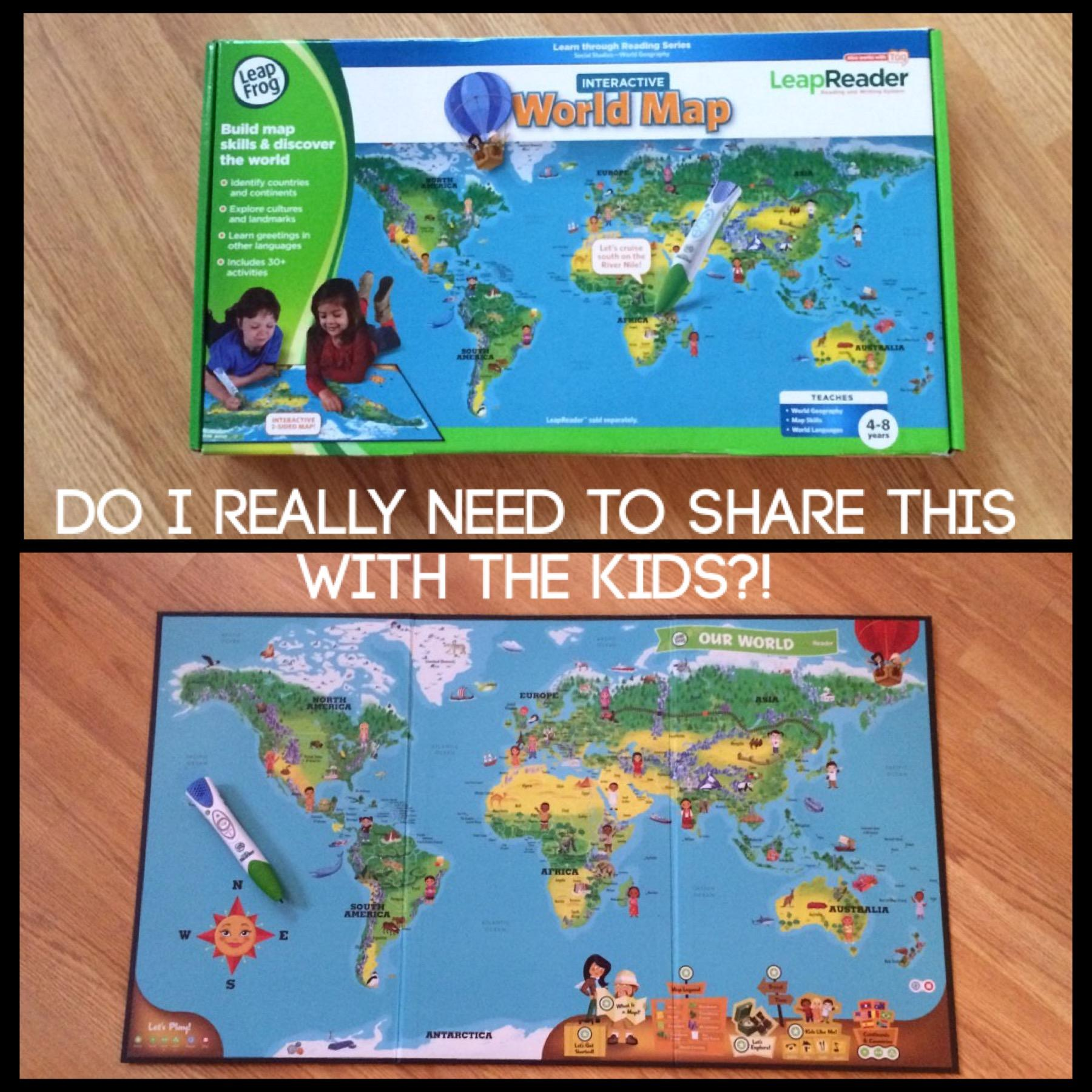 Leapfrog leapreader interactive world map mothergeek before you can play with the interactive world map you have to install the data onto your leapreader pen this is easy to do but its best to do it before gumiabroncs