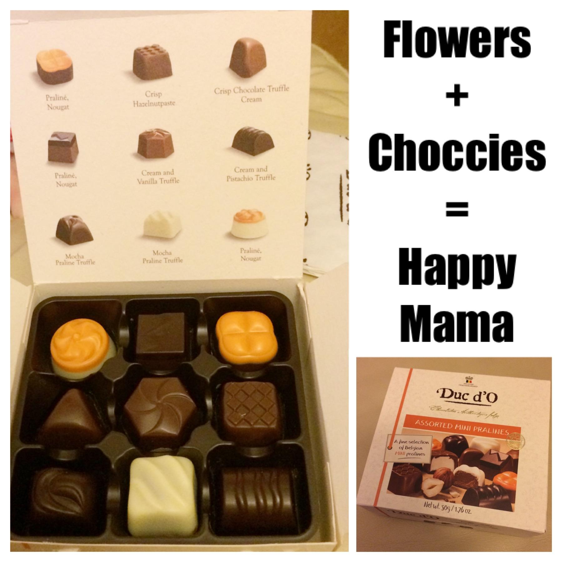 Flowers For Mother's Day - free chocolates