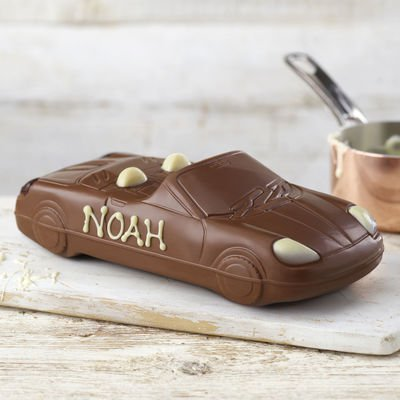 Father's Day presents - chocolate car from Thorntons