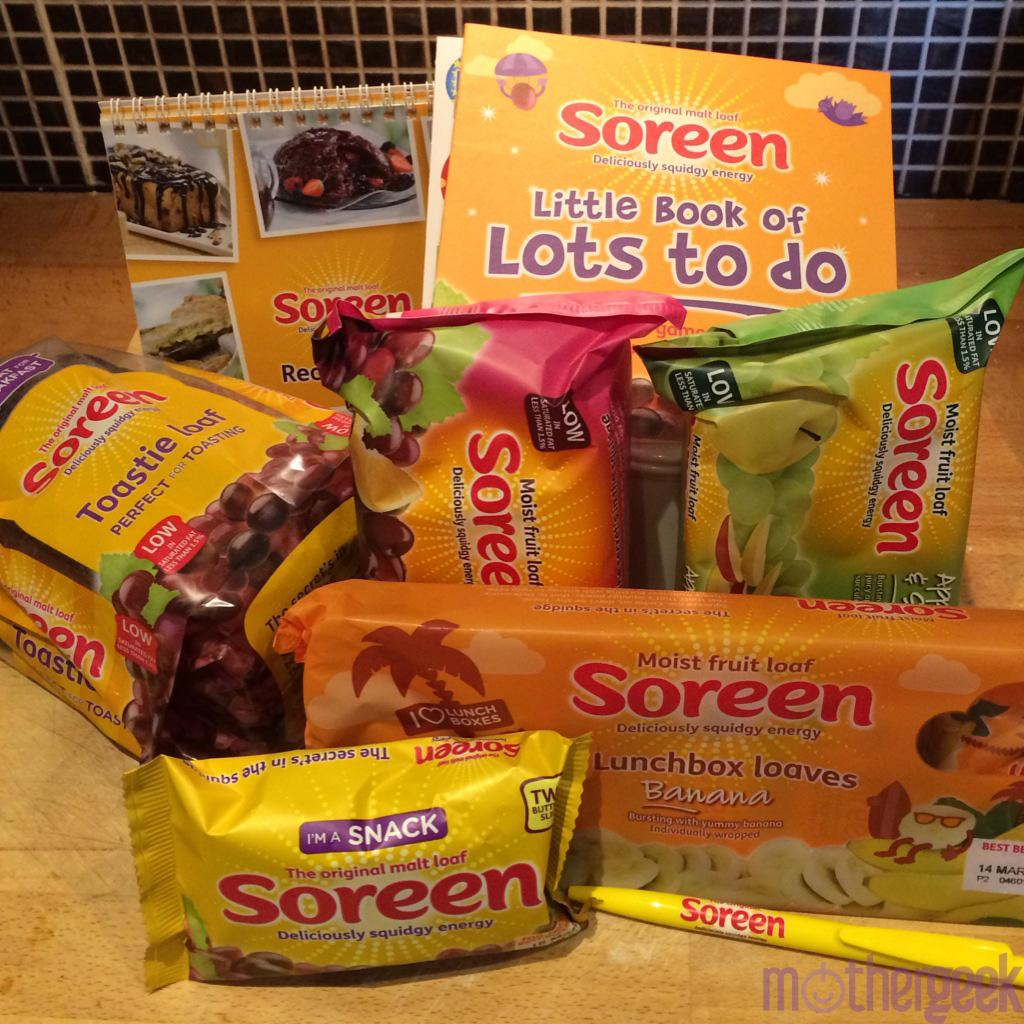 Doreen's having her Soreen
