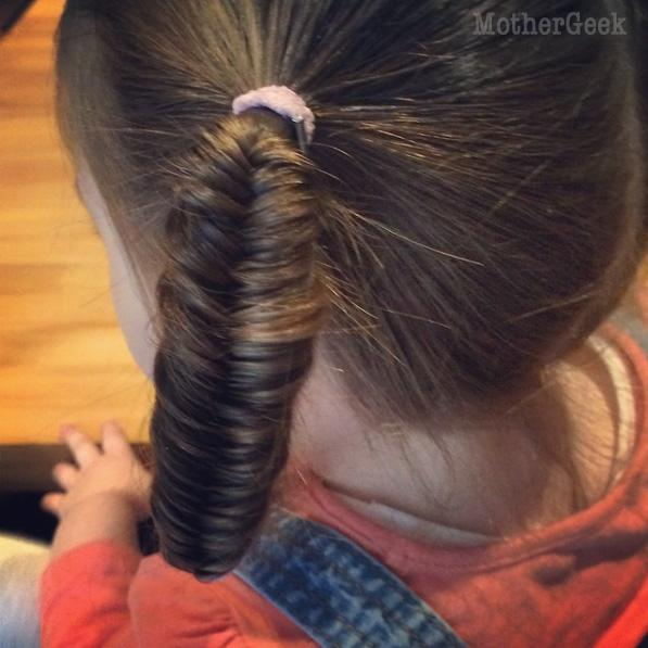 easy Hairstyle ideas for young girls fishtail plaits