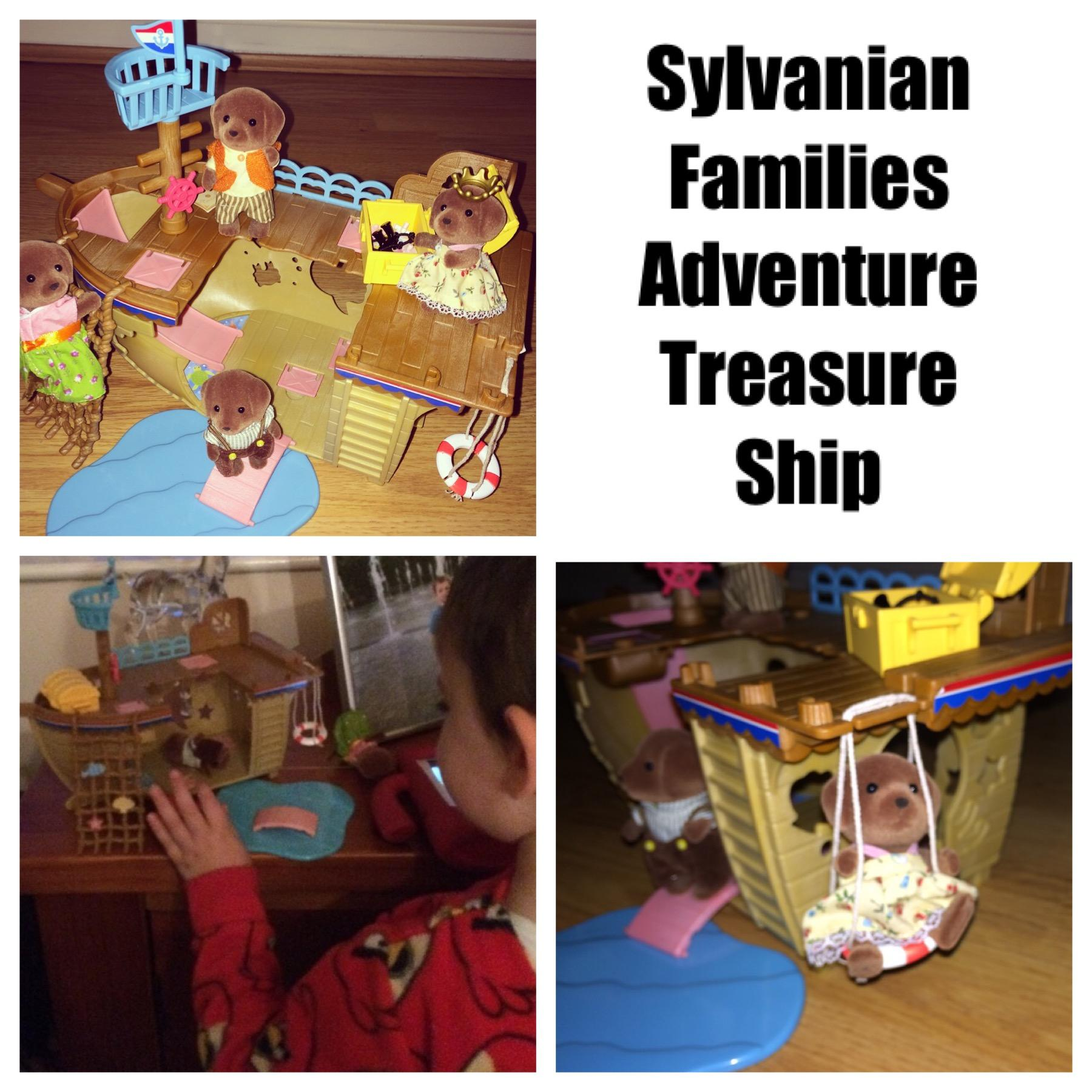 Sylvanian Families Adventure Treasure Ship Review