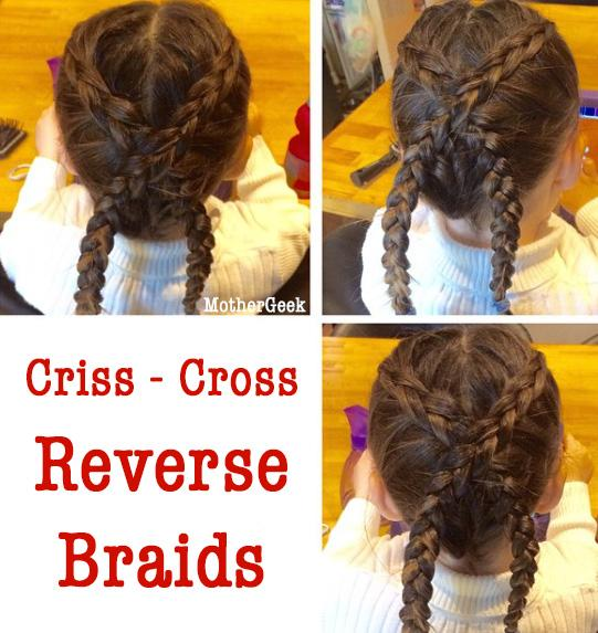Hairstyle Ideas For Young Girls - crossover braids