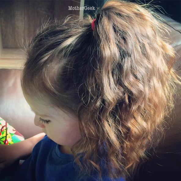 Curly hair Hairstyle Ideas For Young Girls