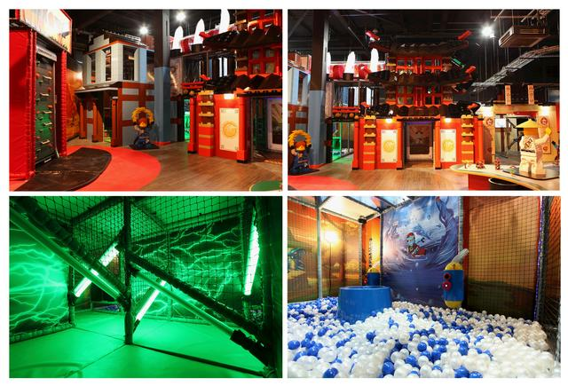 Soft Play in Legoland Discovery Centre Manchester