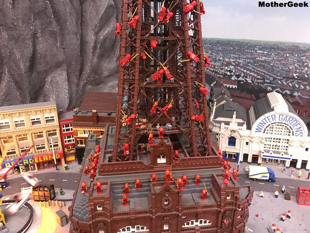 Miniland in Legoland Discovery Centre Manchester
