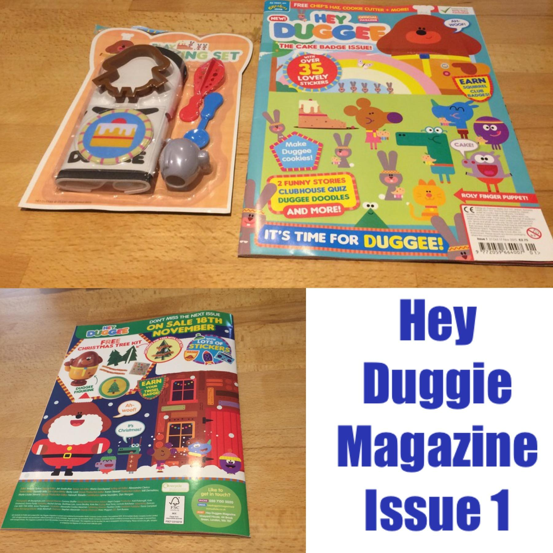 Hey Duggee Magazine Review