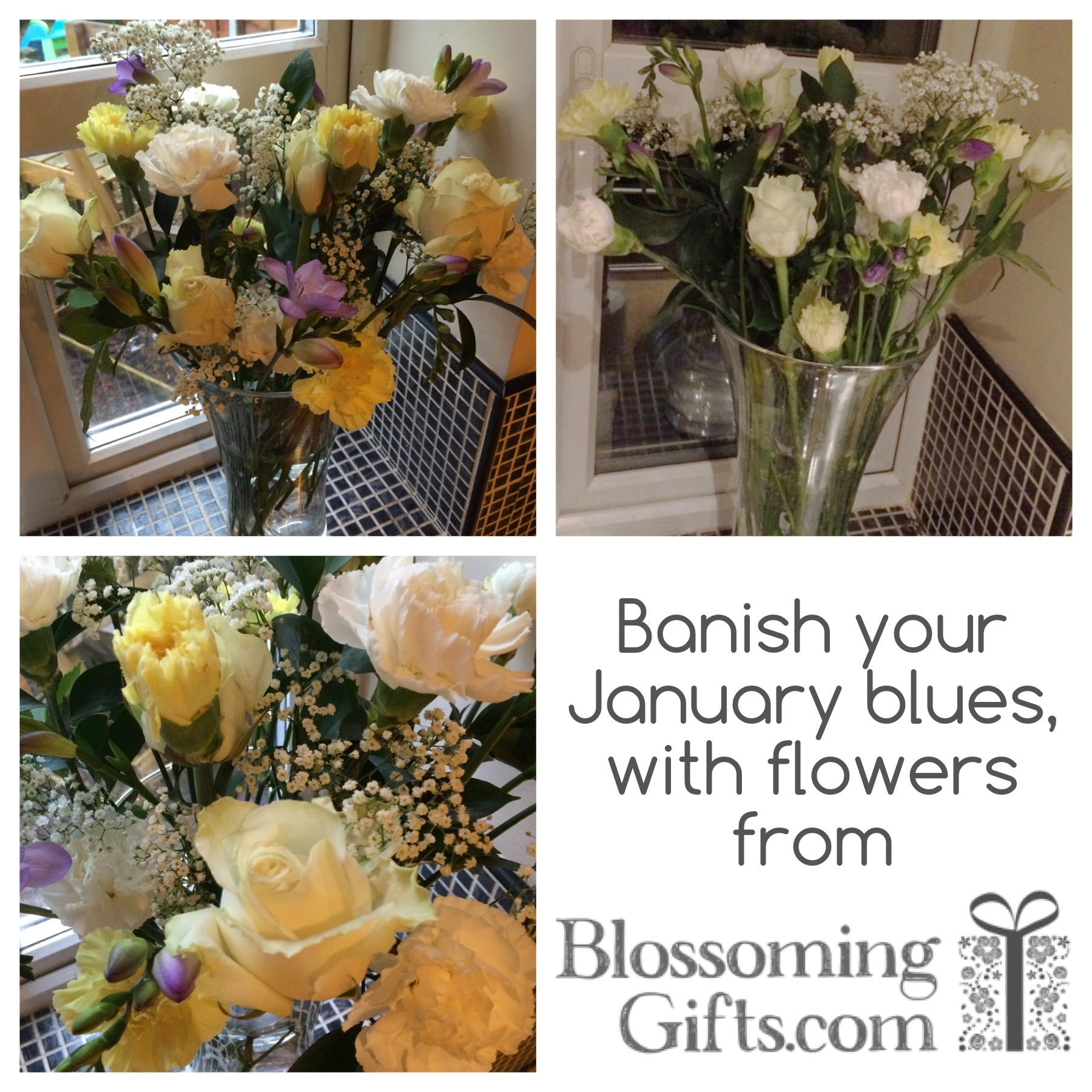 flowers help Banish Your January Blues