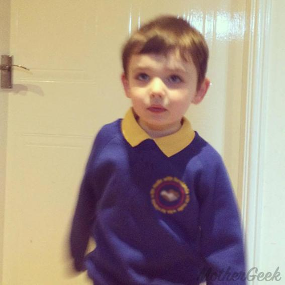 Dear Sam - First day at school