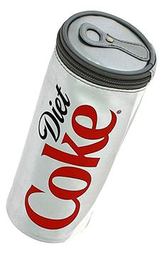 Retro School Supplies - diet coke pencil case