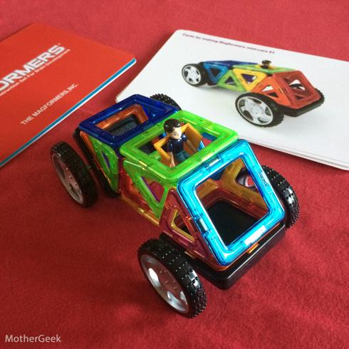 Magformers WOW Set review - A car we built