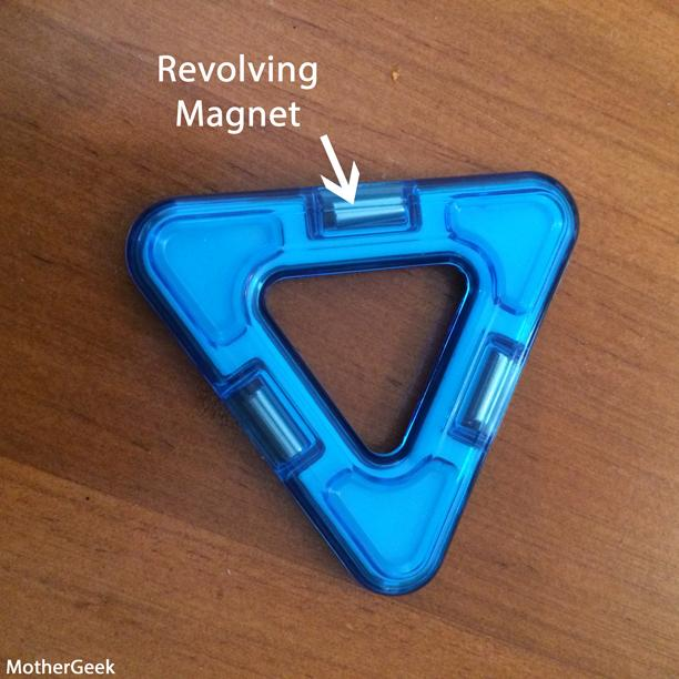 Magformers WOW Set review - triangle piece
