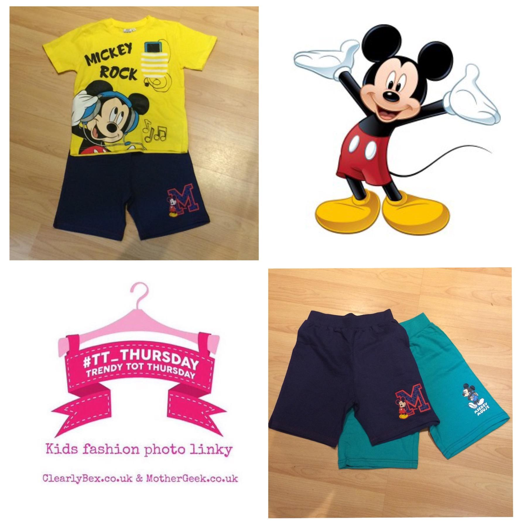 Mickey Mouse Summer Clothes