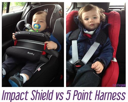 Five Point Harness VS Impact Shield