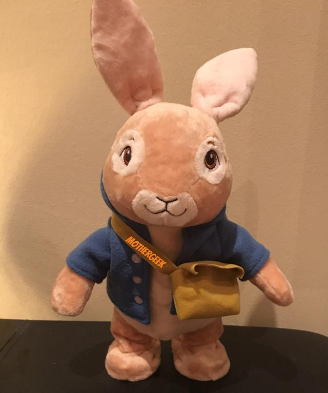 Peter Rabbit Hop With Me Plush