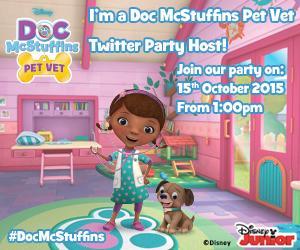 Doc McStuffins twitter party