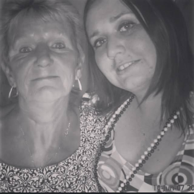 A Poem For My Mum - my mum and I in 2007