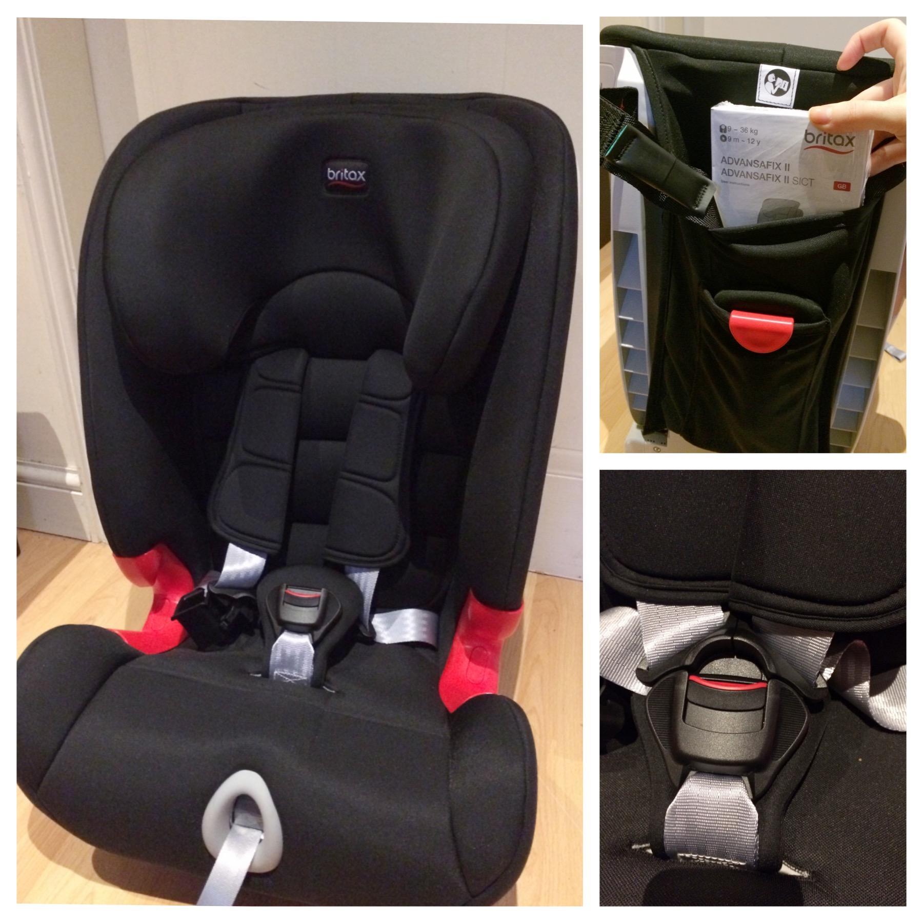 Britax Advansafix II SICT Car Seat Review