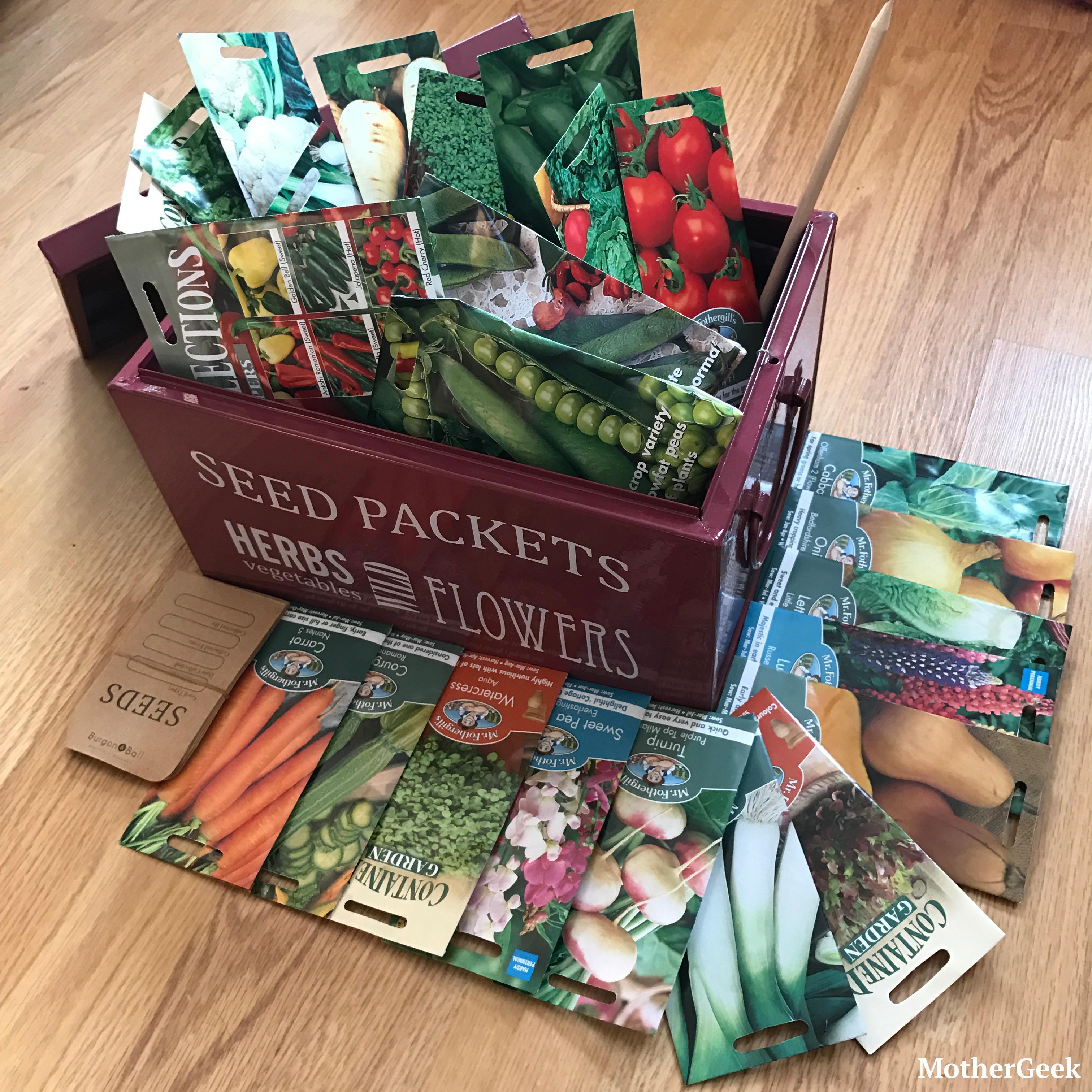 plant seed advent calendar