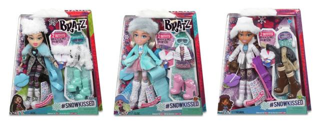 Bratz SnowKissed Doll - 3 available