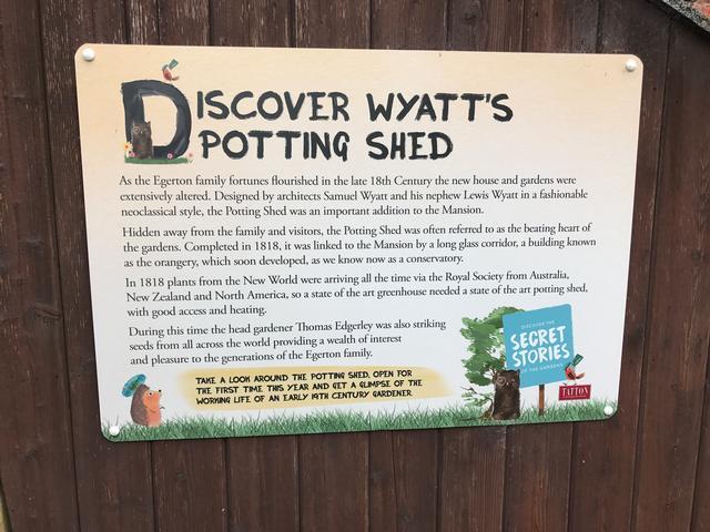 Tatton Park Gardens - Potting Shed
