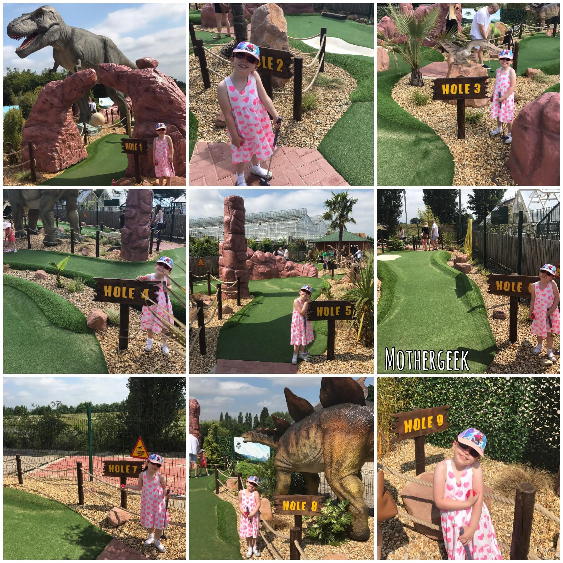 Jurassic Cove Adventure Golf Bents