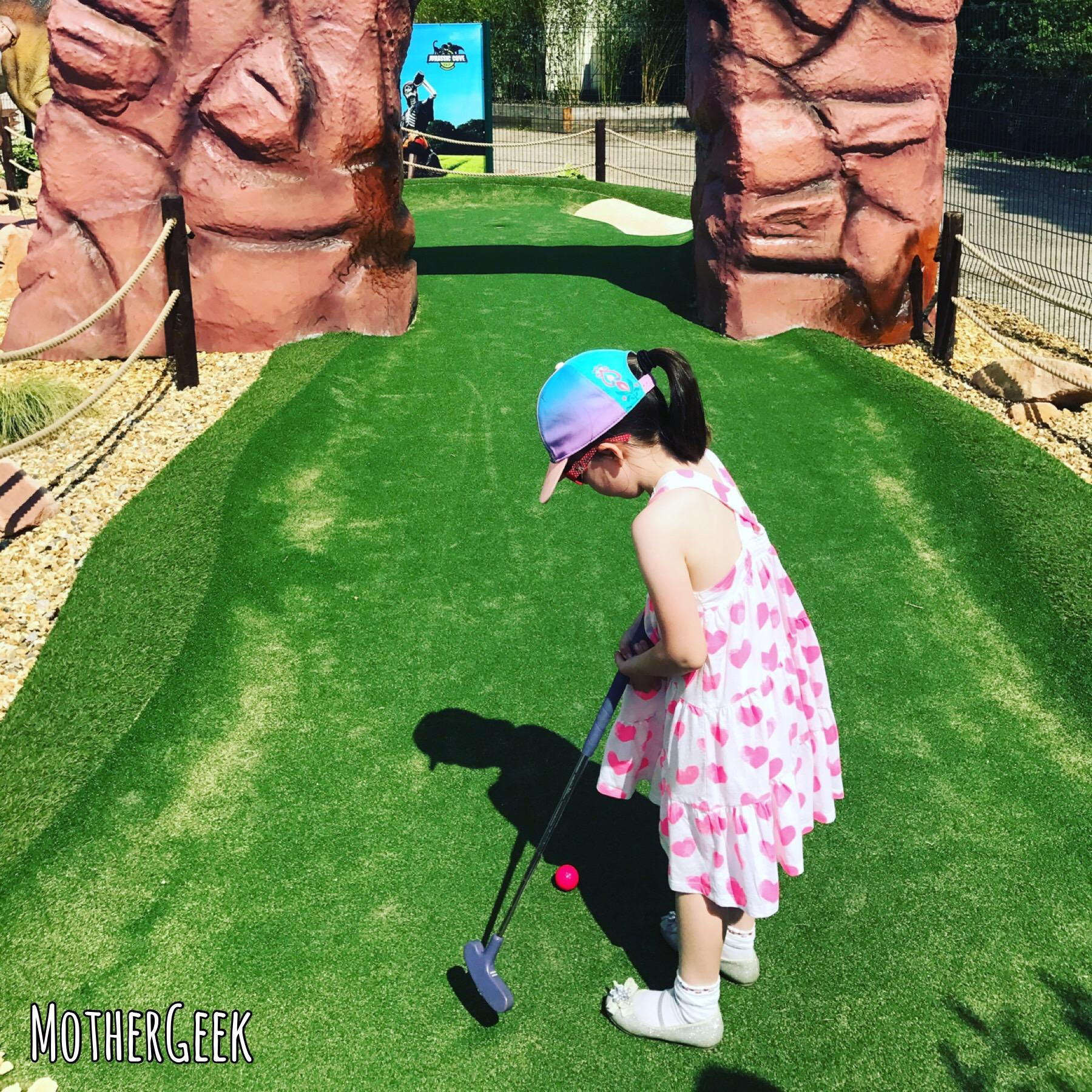 Jurassic Cove Adventure Golf