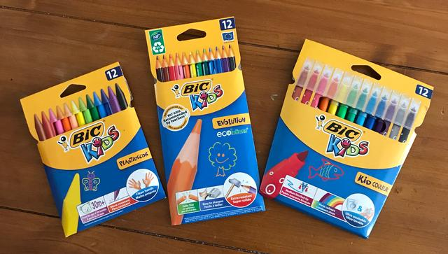 BIC Kids pencils