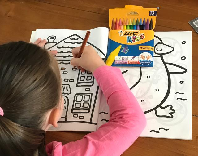 BIC Kids syd colouring
