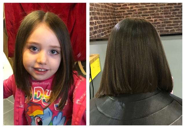 Donating Your Hair to The Little Princess Trust - AFTER