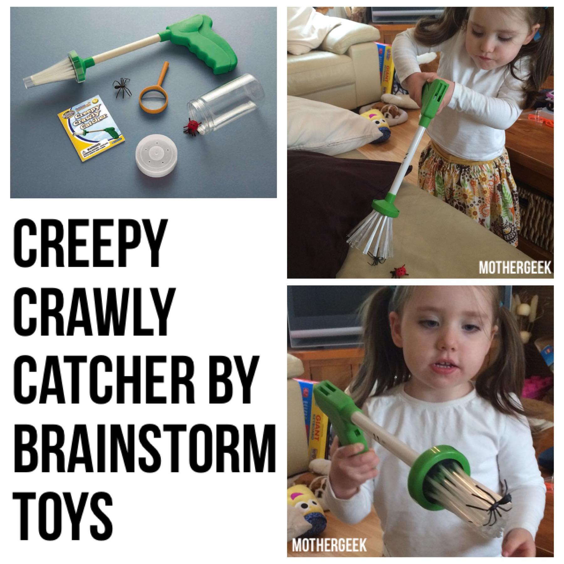 Creepy Crawly Catcher review - In action
