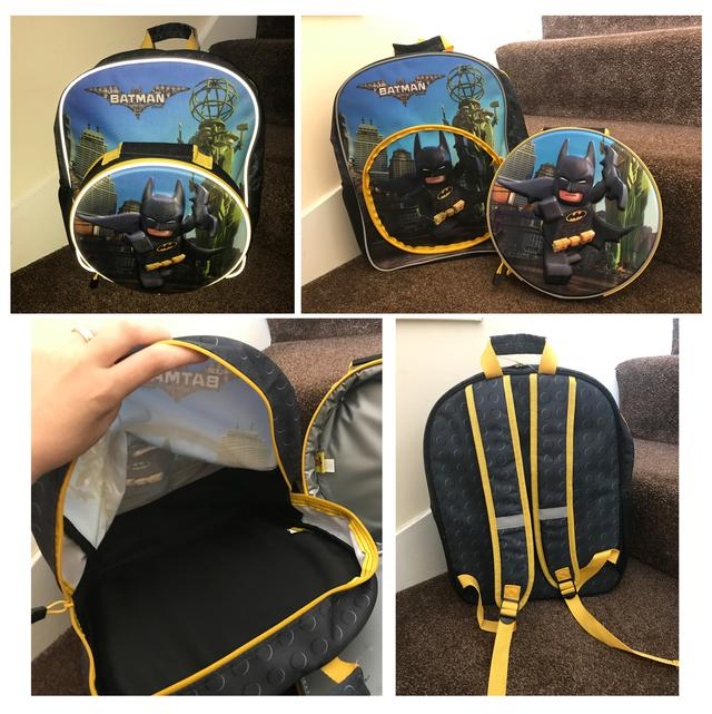 back to school - Batman bag