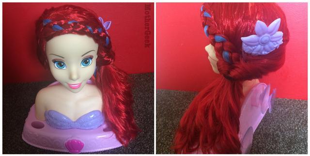 Disney PrincessAriel Bath Styling Head