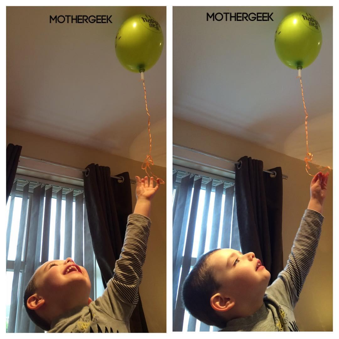 Happy kid with balloon - When Everything Slots Together