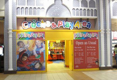 Trafford Centre Creche - front of the creche