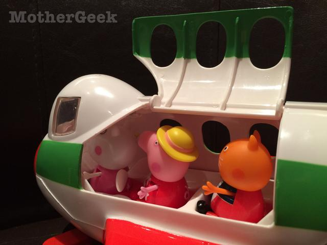 Peppa Pig holiday jet review