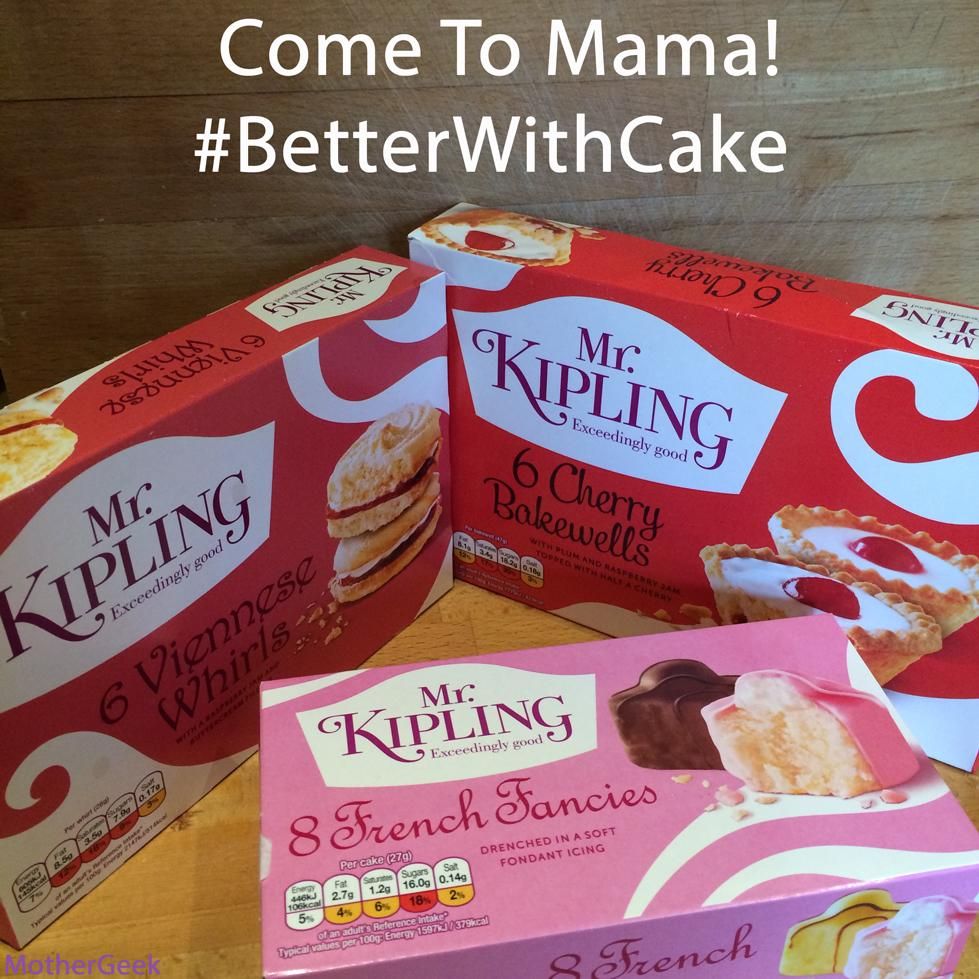 Better With Cake - Mr Kipling cakes