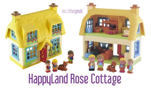 Happyland Rose Cottage front and back