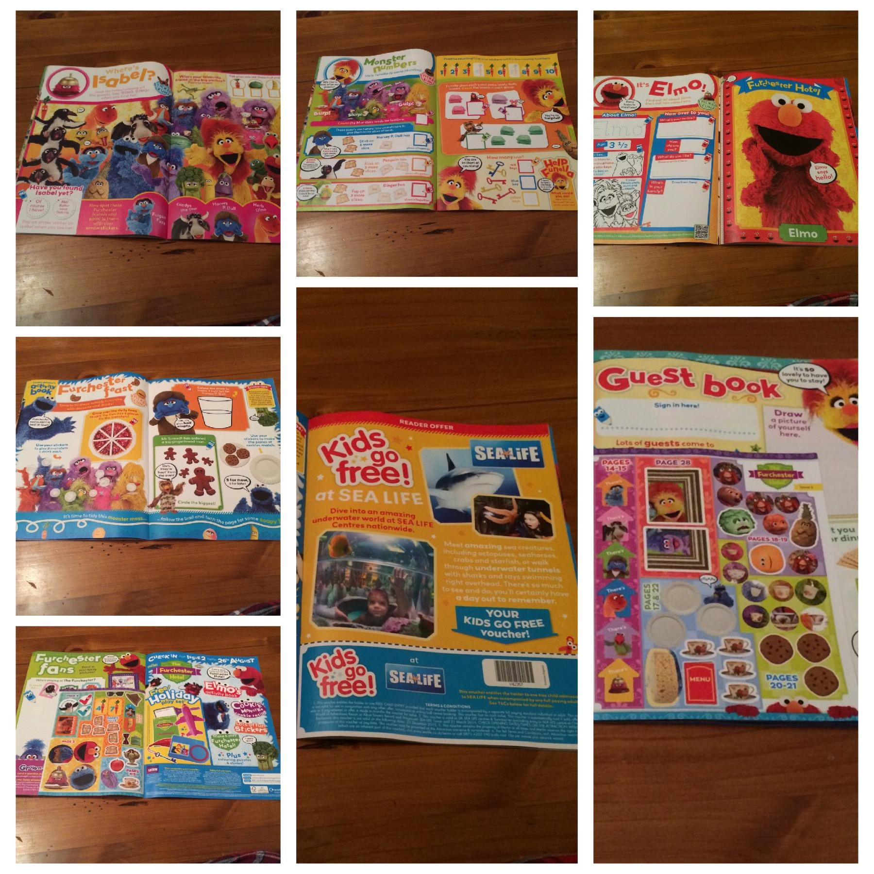 Inside issue 1 of The Furchester Hotel Magazine Review