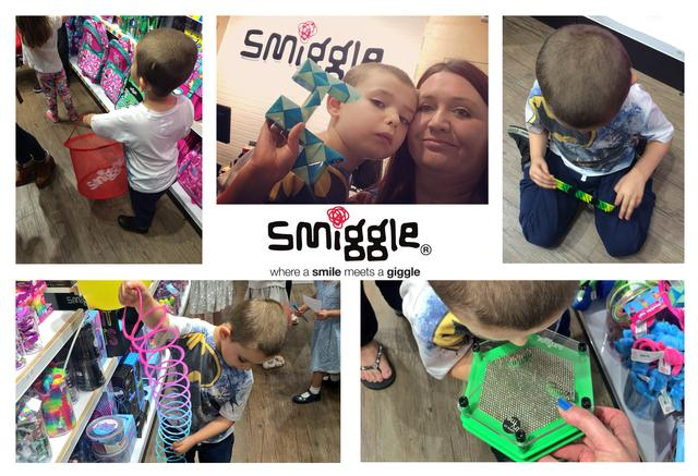 Sam and I in Smiggle