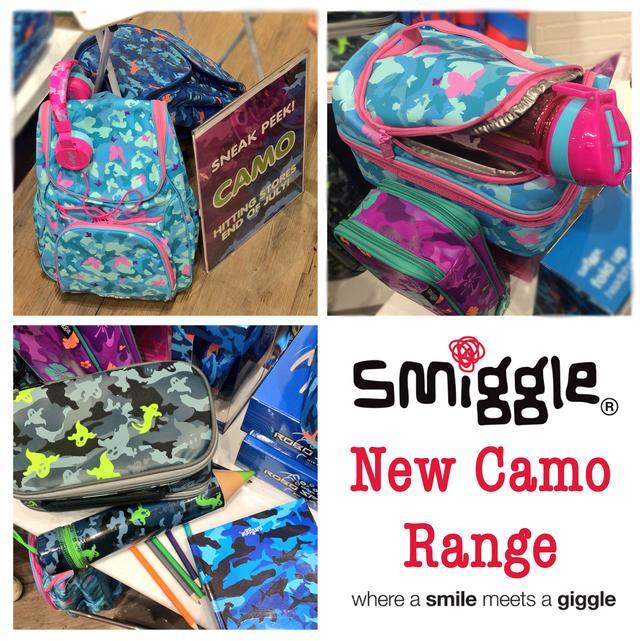 Smiggle Manchester Camp Range