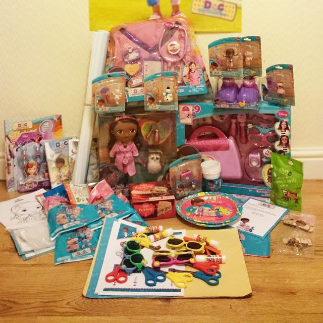 Disney Doc McStuffins goodies