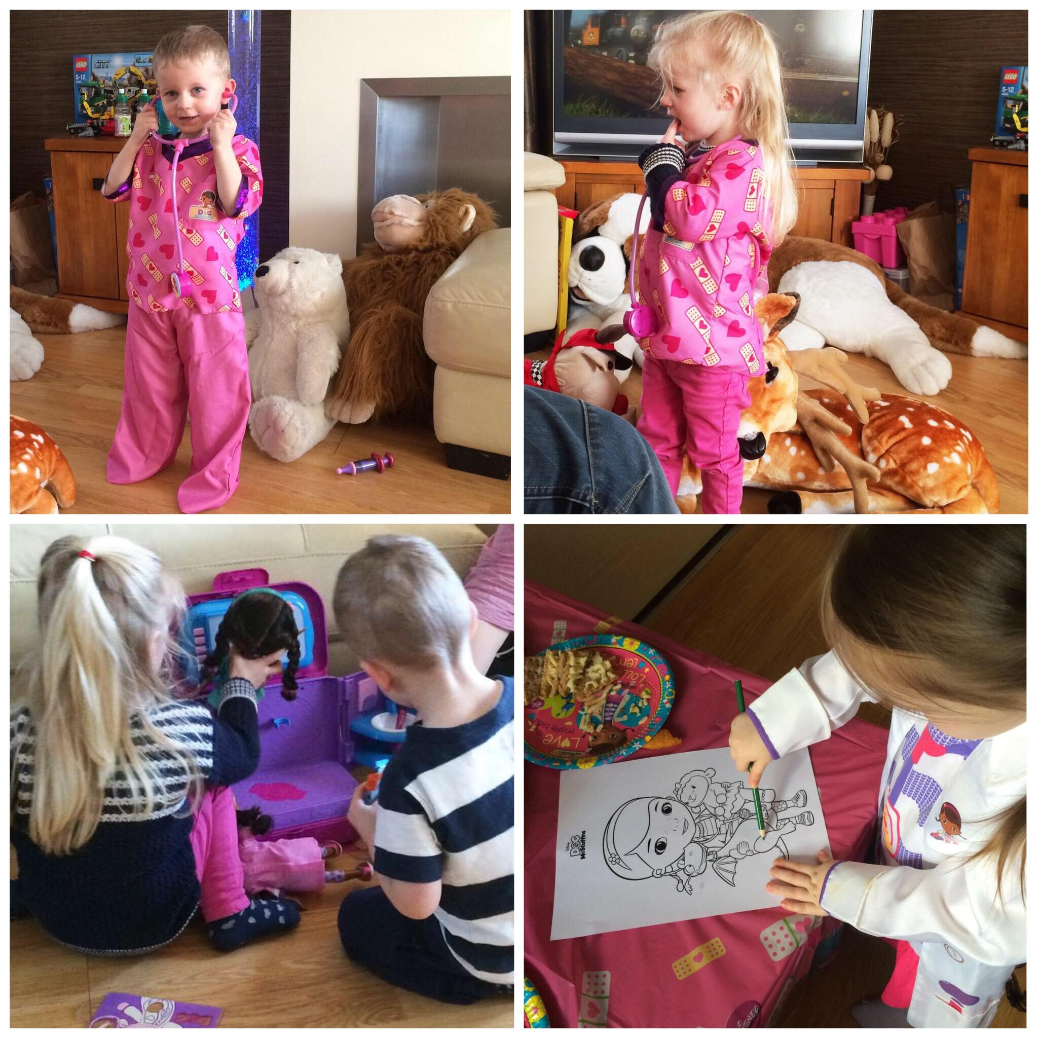 Doc McStuffins Twitter Party kids playing