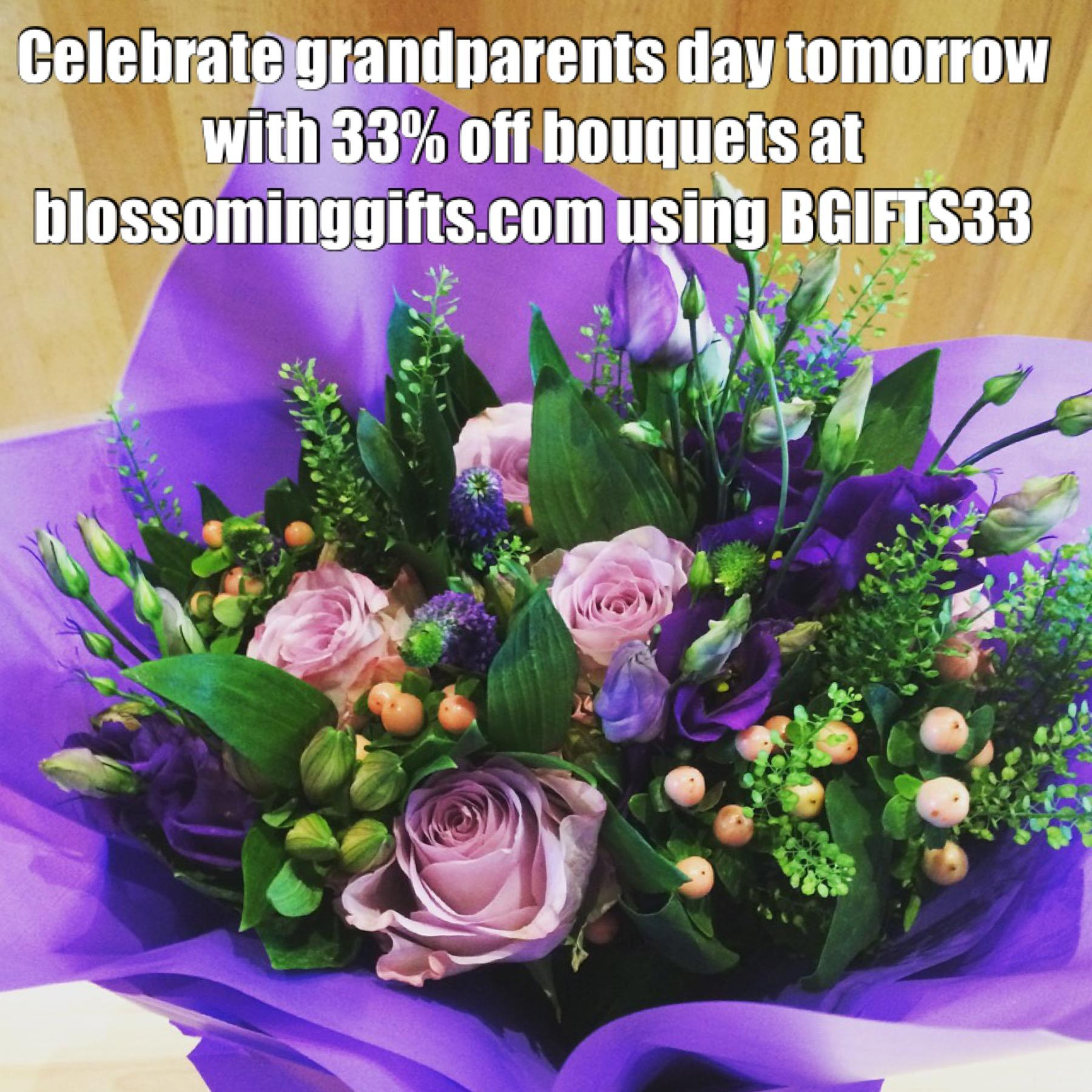 Blossoming Gifts Flowers discount code