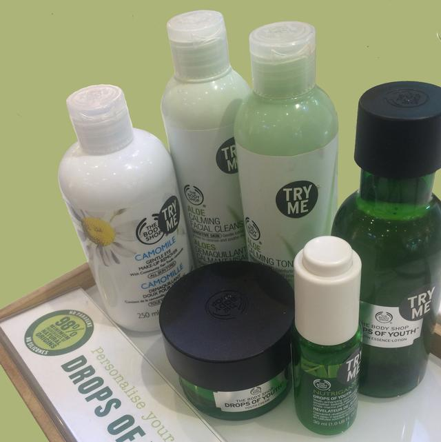 Bodyshop products - My Gross Confession