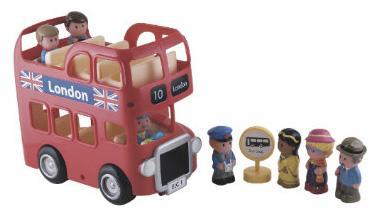 Happyland London Bus